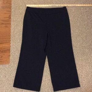 EUC Lane Bryant Navy Pull-on Pant 18/20